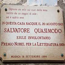 La Casa Museo del Nobel Salvatore Quasimodo